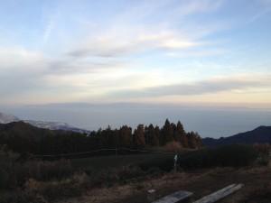 満観峰から伊豆半島