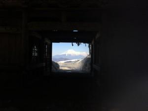 七面山 展望所